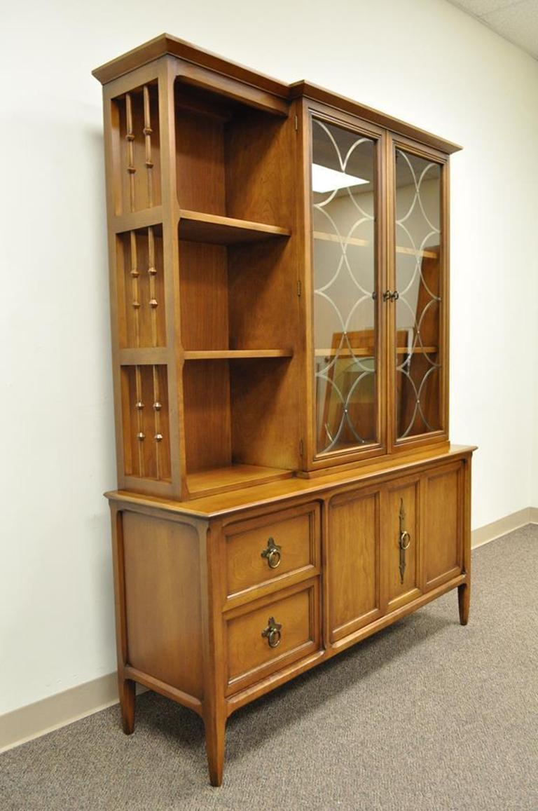 Vintage Mid-Century Modern Century Furniture Walnut China ...