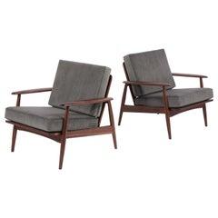 Vintage Mid-Century Modern Danish Lounge Armchairs