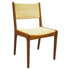 Vintage Mid-Century Modern Danish Style Teak Wood Dining Chair by Sun Furniture