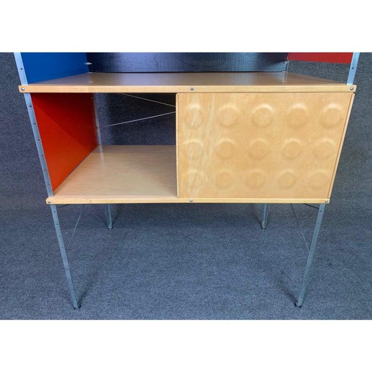 Vintage Mid-Century Modern Eames Style Esu Storage Unit by Modernica For Sale 3