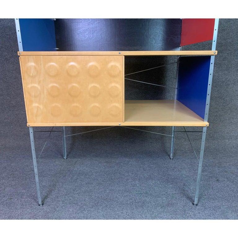 Vintage Mid-Century Modern Eames Style Esu Storage Unit by Modernica For Sale 4