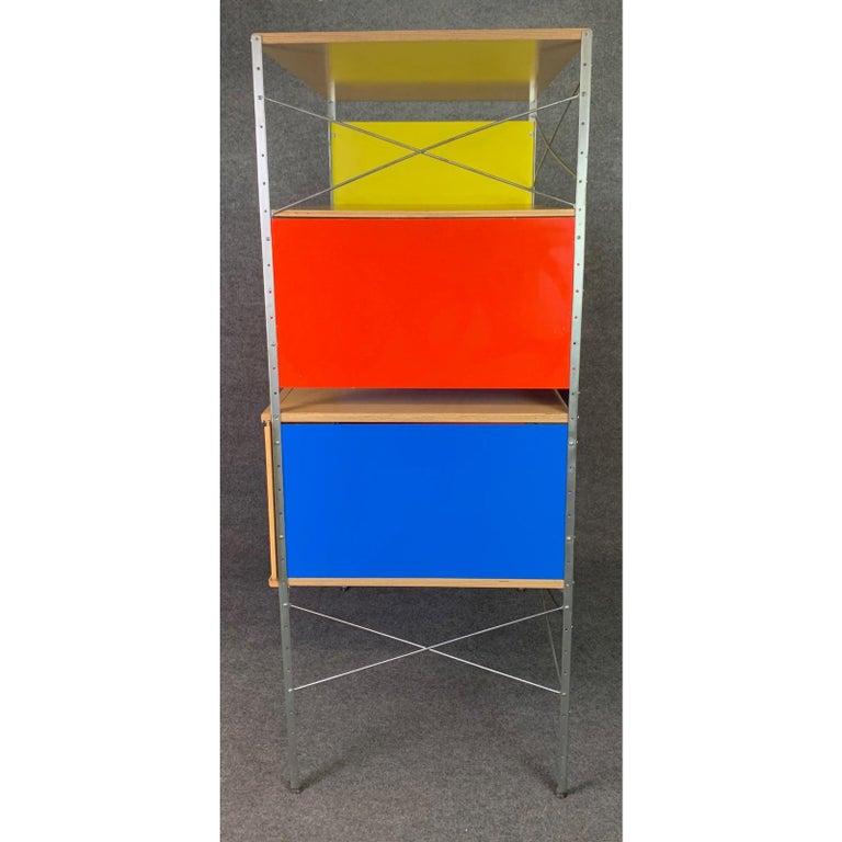 Vintage Mid-Century Modern Eames Style Esu Storage Unit by Modernica For Sale 1
