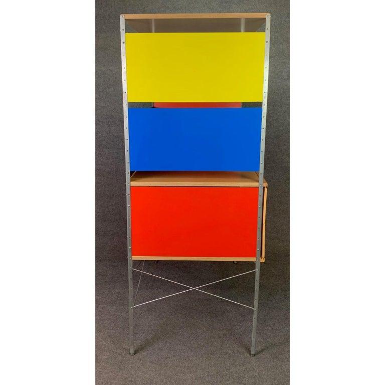 Vintage Mid-Century Modern Eames Style Esu Storage Unit by Modernica For Sale 2