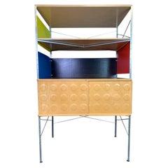 Vintage Mid-Century Modern Eames Style Esu Storage Unit by Modernica