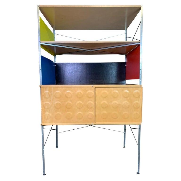 Vintage Mid-Century Modern Eames Style Esu Storage Unit by Modernica For Sale