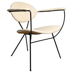 Vintage Mid-Century Modern Lounge Chair by Joseph Cicchelli for Reilly Wolf