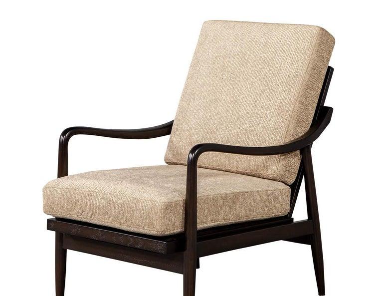Vintage Mid-Century Modern Lounge Chair For Sale 1