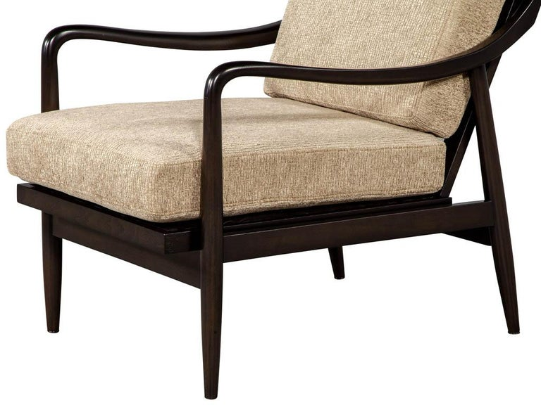 Vintage Mid-Century Modern Lounge Chair For Sale 2