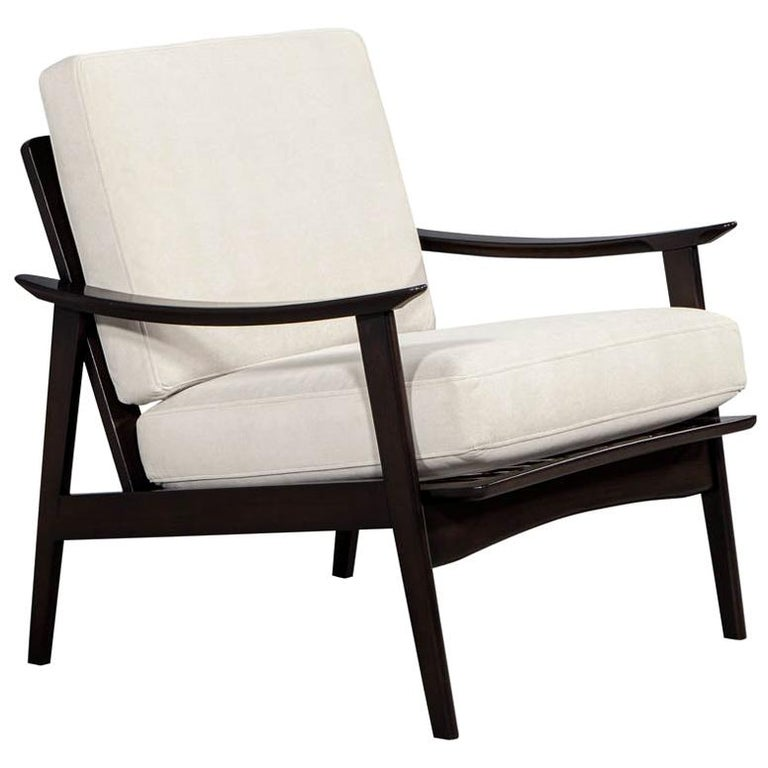 Vintage Mid-Century Modern Lounge Chair For Sale