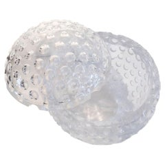 Vintage Mid-Century Modern, Lucite Golf Ball Ice Bucket by Grainware