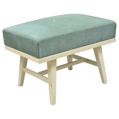 Vintage Mid-Century Modern Paul McCobb Style Ottoman Stool Herald Furniture Co