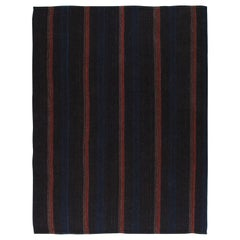 Vintage Mid-Century Modern Pelas Flat-Weave Rug