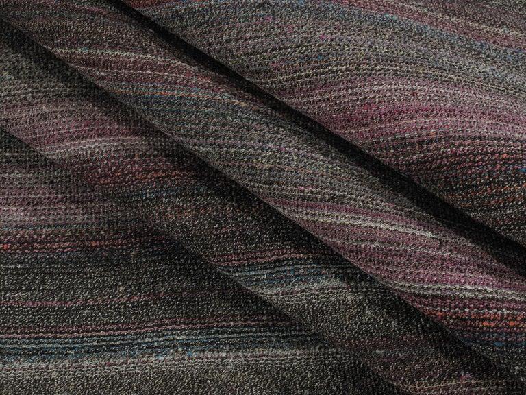 Turkish Vintage Mid-Century Modern Pelas Flat-Weave Rug For Sale