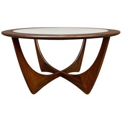 "Vintage Mid-Century Modern Teak ""Astro"" Coffee Table by G Plan"