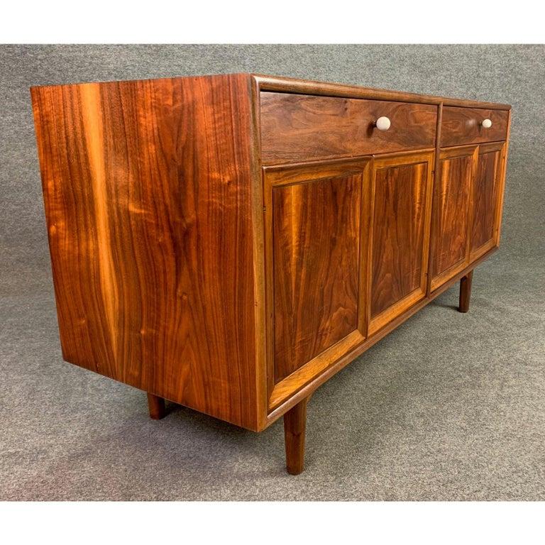 Woodwork Vintage Mid-Century Modern Walnut