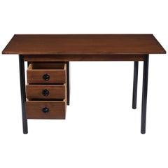Vintage Mid-Century Modern Walnut Desk