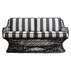 Vintage Mid-Century Russel Woodard Spun Fiberglass Patio Sofa