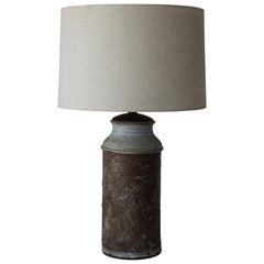 Vintage Midcentury Stoneware Lamp, 1960s