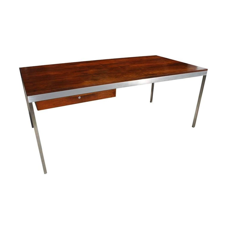 Vintage Midcentury Table Desk by Harvey Probber