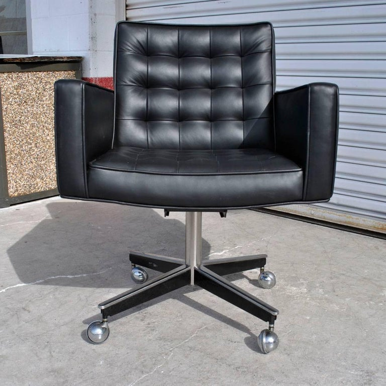 American Vintage Midcentury Vincent Cafiero Knoll Task Chair For Sale