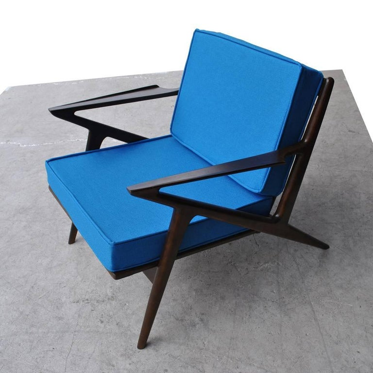 Mid-Century Modern Vintage Midcentury Z Chair by Poul Jensen for Selig For Sale