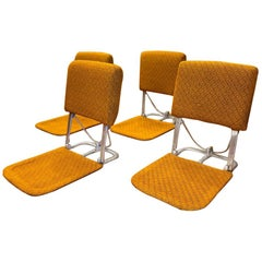 Vintage Midcentury Zaisu Chairs 'set of 4'