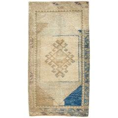 Vintage Midcentury Anatolian Tribal Rug