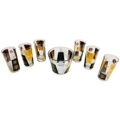 Vintage Midcentury Barware Cocktail Set