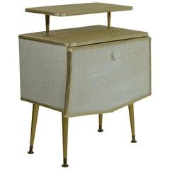 Vintage Midcentury Bedside Cabinet, English, 1950s