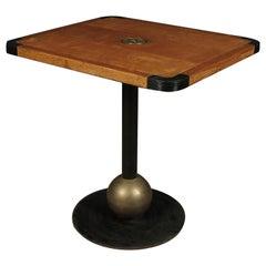 Vintage Midcentury Bistro Table, Sweden, 1950s