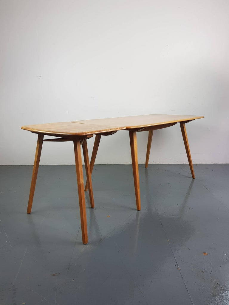 Vintage Midcentury British Ercol Desk Extension For The