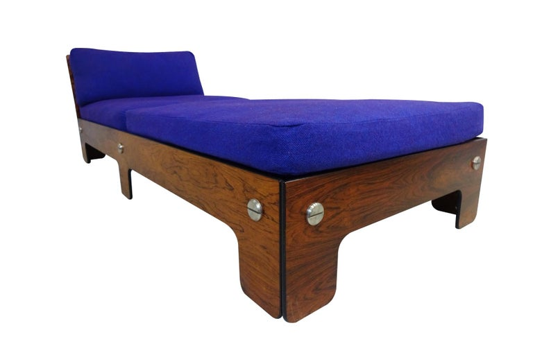European Vintage Midcentury Chaise Longue or Day Bed For Sale