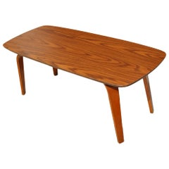 "41.5"" Vintage Midcentury Coffee Table by Thonet"