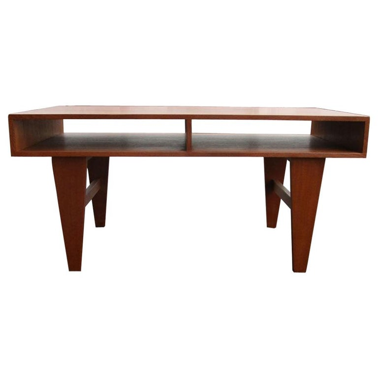 """45""""W Vintage Midcentury Coffee Table For Sale"""