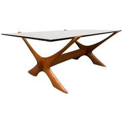 "Vintage Midcentury ""Condor"" Teak Coffee Table by Fredrik Schriever-Abeln"
