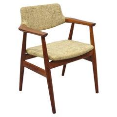 Vintage Midcentury Danish Modern Svend Age Eriksen Glostrup Teak Armchair