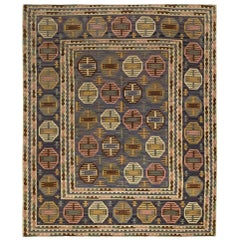 """Vintage Midcentury """"Dukater"""" Rug by Marta Maas-Fjetterstrom"""