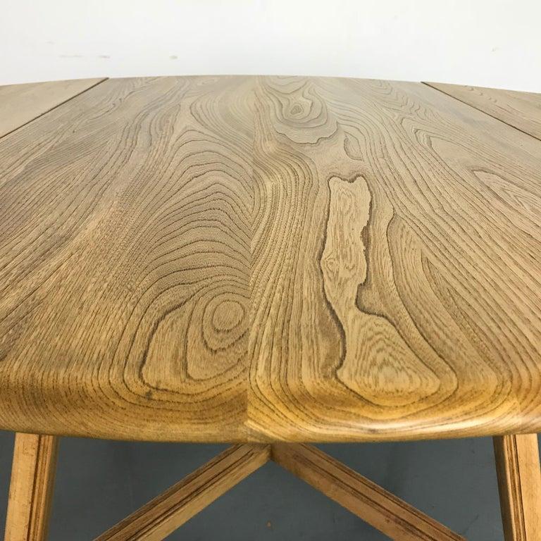 Vintage Midcentury Ercol Drop Leaf Dining Table At 1stdibs