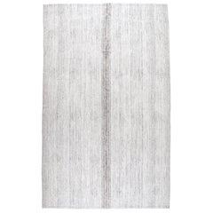 Vintage Midcentury Flat-Weave Rug