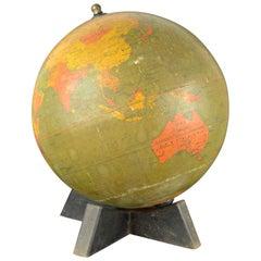 Vintage Midcentury Globe by Johnston & Bacon, circa 1950