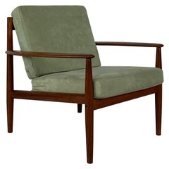 Vintage Midcentury Grete Jalk for France and Son Teak Lounge Chair