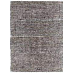 Vintage Midcentury Persian Pelas Flat-Weave Rug