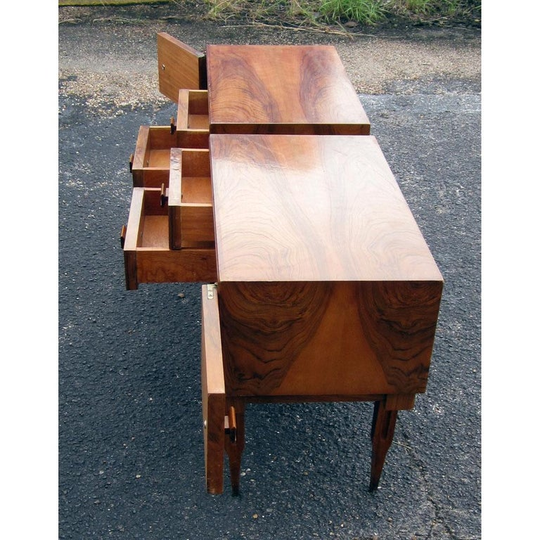 Vintage Midcentury Rosewood Side Tables Nightstands  In Good Condition For Sale In Pasadena, TX