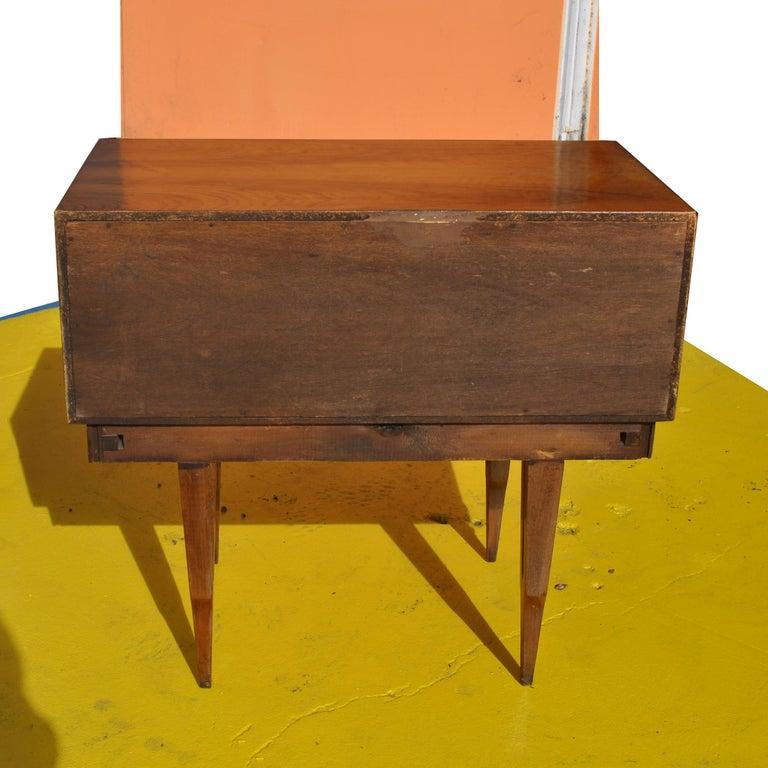 Vintage Midcentury Rosewood Side Tables Nightstands  For Sale 2