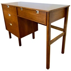 Vintage Midcentury Walnut Writing Desk