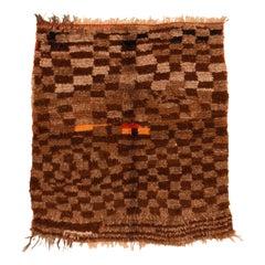 Vintage Middle Atlas Moroccan Boujad Berber Rug