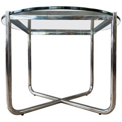 Vintage Mies van der Rohe for Knoll International MR Side Table, 1970s