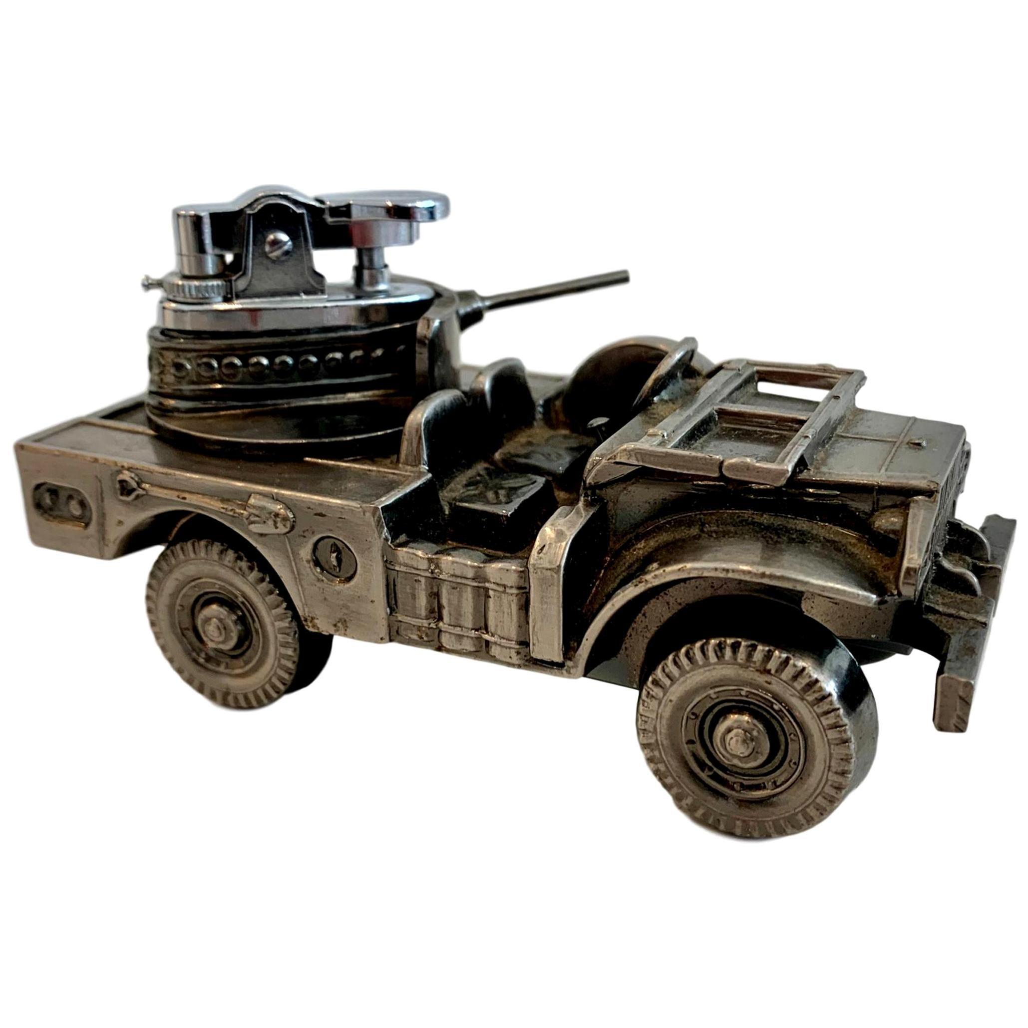 Vintage 'Military Tank' Lighter