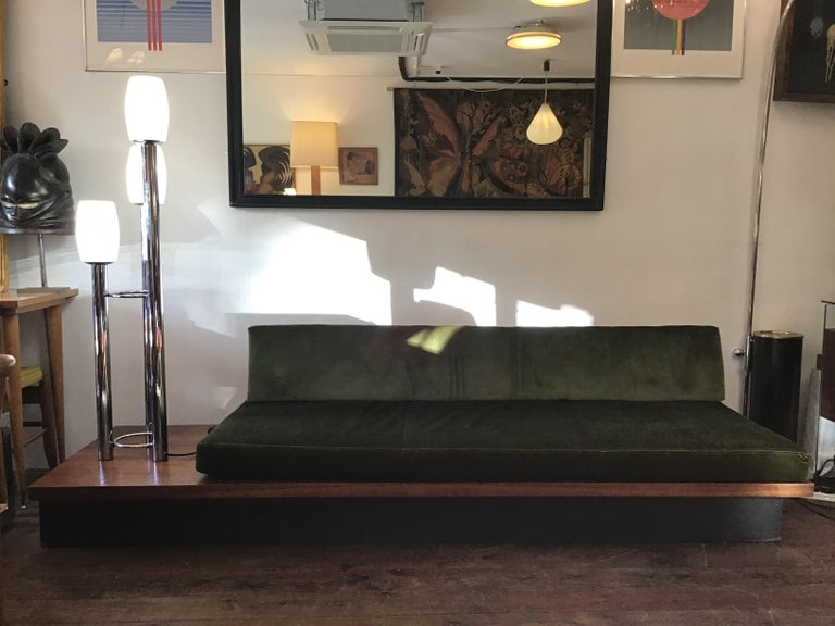 Mid-Century Modern Vintage Milo Baughman Thayer Coggin Daybed Sofa For Sale