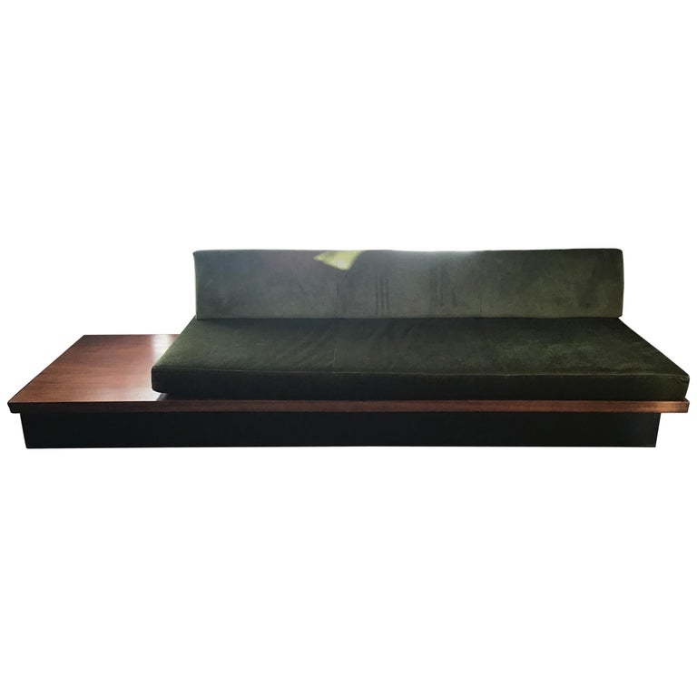 Vintage Milo Baughman Thayer Coggin Daybed Sofa For Sale